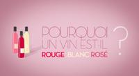 Pourquoi un vin est-il rouge, blanc, rosé ?