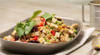 Salade de riz aux canneberges